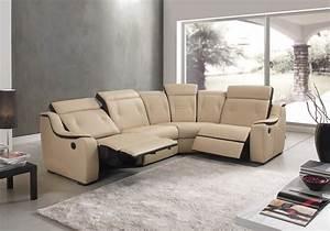 Canapé Paiement Plusieurs Fois : canape 3 places 2 relax electriques ref dune meubles husson ~ Teatrodelosmanantiales.com Idées de Décoration