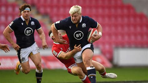 Autumn Nations Cup: Scotland make five changes for France ...