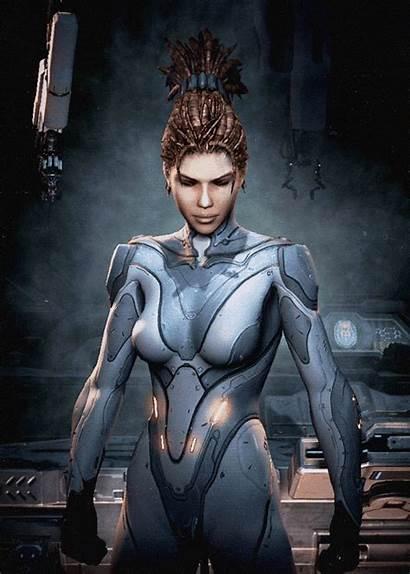 Sarah Kerrigan Starcraft Nova Human Zerg Animation