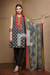 Nishat Linen Printed Linen Winter Collection Unstitched 3 ...