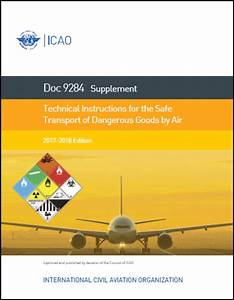 Icao Doc 9284 Supplement 2017