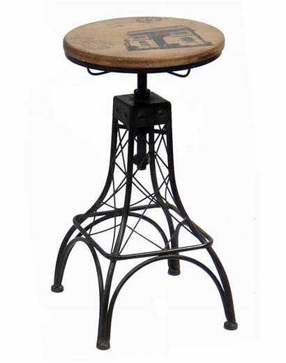 Bar Stool Adjustable Eiffel Height Piece Parisian