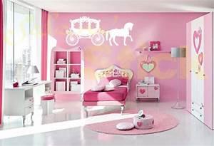 Deco Chambre Fille Princesse : nouveaux articles sticker carrosse de princesse ~ Teatrodelosmanantiales.com Idées de Décoration