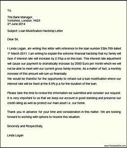 hardship letter loan modification templatezet With example hardship letters for loan modification