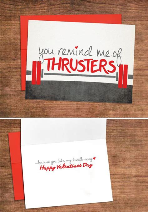breath  fitness inspired valentines card