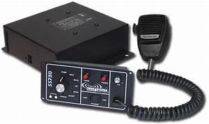 Ss730 Full Feature Dash Mount 200 Watt Siren For Police