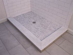 Large Subway Tile In A Shower - Inspiration Interior