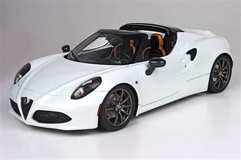 Alfa Romeo 4c Spider White, Alfa 4c White