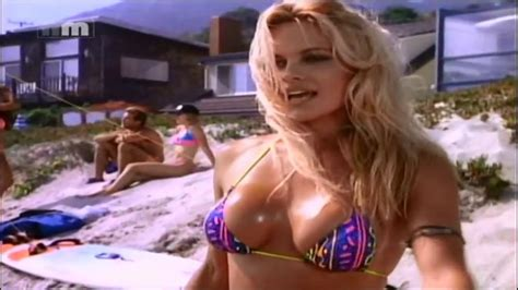 pamela david swimsuit pamela anderson joins the rock s baywatch 2017 youtube