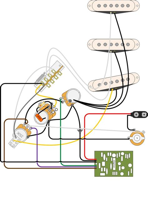7 way dpst wiring with a clapton mid boost fender