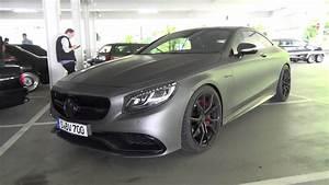 Mercedes V8 Biturbo : mercedes benz s63 amg coupe c217 v8 biturbo matte grey ~ Melissatoandfro.com Idées de Décoration