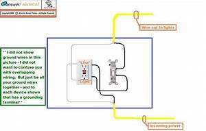 I Need A Wiring Diagram For A Gfci Wall Plug With Light Switch