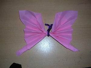 Pliage De Serviette Papillon : pliage serviettes ~ Melissatoandfro.com Idées de Décoration