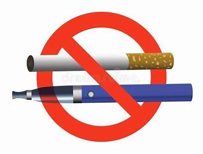 Vaping Ban Smoking Cigarette Sign Vector Cigarettes