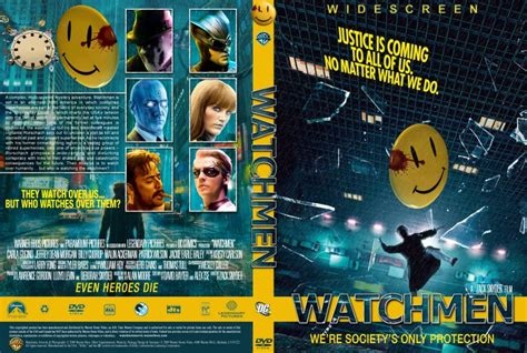 watchmen  dvd custom covers watchmen dvd covers