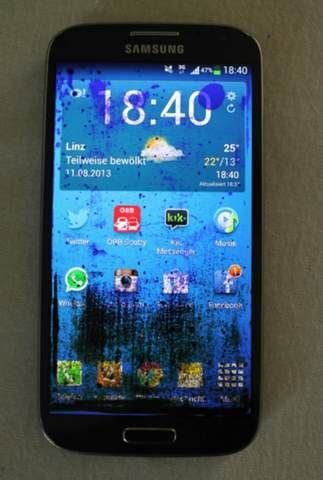 samsung galaxy  display flecken handy smartphone