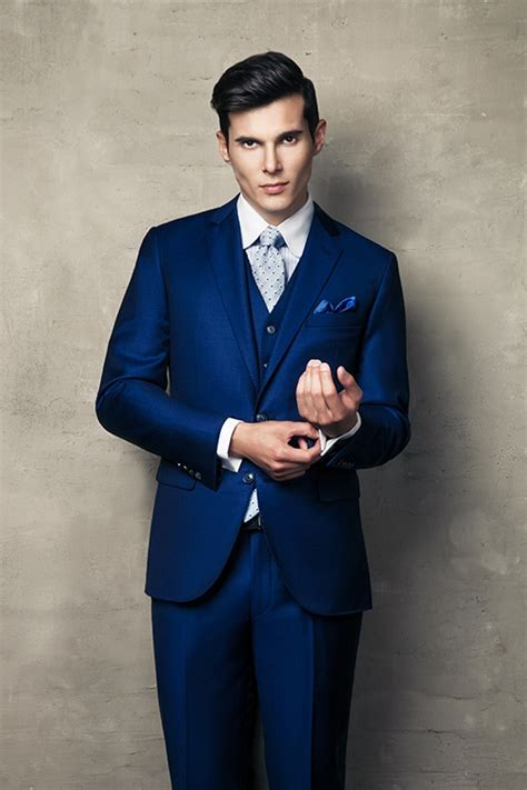 bespoke royal blue wedding suit   bespoke club