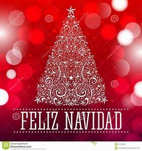 Noel En Espagnol : feliz navidad texte d 39 espagnol de joyeux no l illustration de vecteur image 47472820 ~ Preciouscoupons.com Idées de Décoration