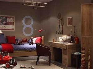 Chambre Pour Ado : deco chambre garcon ssiner inspirations et ado des photos decoration theamericanbreak ~ Farleysfitness.com Idées de Décoration