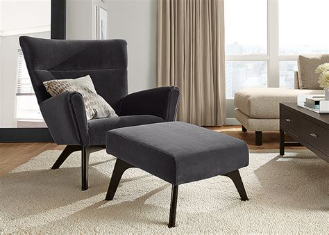 reading chair  ottoman interior design ideas