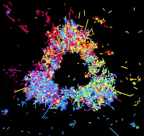 Proton Quarks by Visualisation Of Quark Structure Of Proton Photograph By