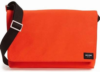Messenger Bag Orange Spade Jack Bags Laptop