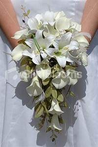 Shop Ivory Calla Lily Artificial Bridal Wedding Bouquet W