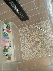 Etagere Dans La Douche : cabine de douche ou douche carreler fa on italienne ~ Edinachiropracticcenter.com Idées de Décoration