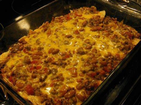 easy to make casseroles easy taco casserole casserole dishes pinterest