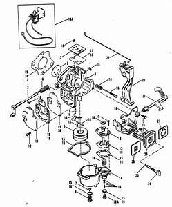 Mercury Marine 25xd Hp Carburetor  Mercury 18   Mercury 20   Mariner 20  Parts