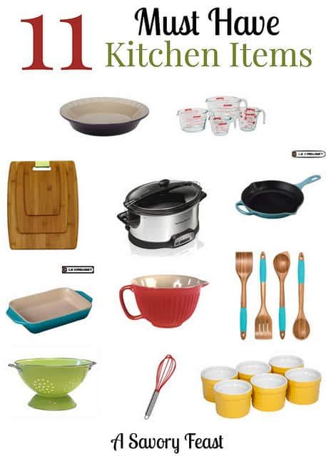 11 Must Have Kitchen Items & A Wish List