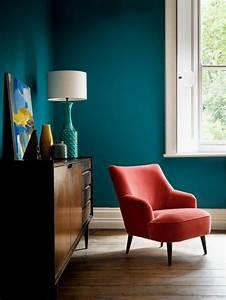Deco Bleu Canard : d co salon bleu canard peinture mobilier et accessoires ~ Teatrodelosmanantiales.com Idées de Décoration