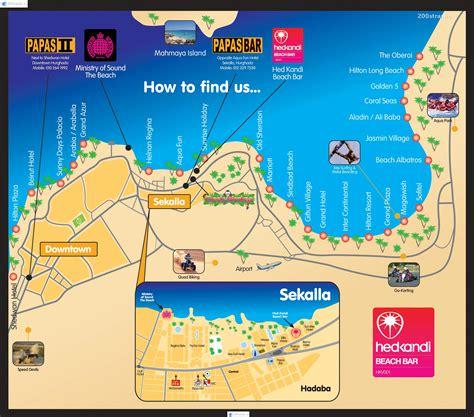 karta khurgady  raspolozheniem oteley map