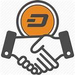 Contract Icon Deal Dash Bitcoin Ripple Bitcoins