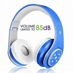 Kabellose Bluetooth Kopfhörer : kabellose bluetooth kopfh rer f r kinder jugendliche ab 5 ~ Kayakingforconservation.com Haus und Dekorationen