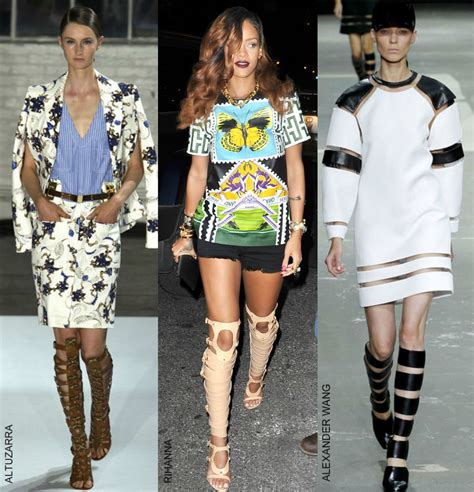 How Steal Rihanna Outrageous Shoe Trend Fashion