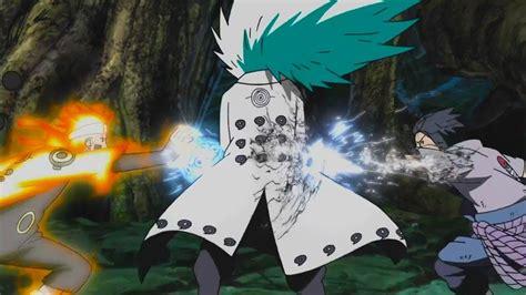 naruto  sasuke  madara final full fight madara