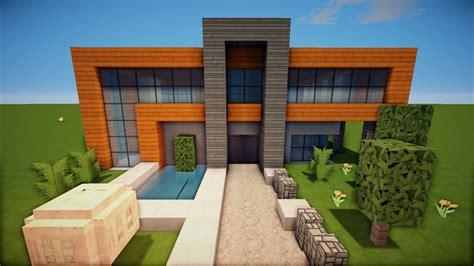 23 TÜr  Großes Modernes Minecraft Haus Bauen Tutorial