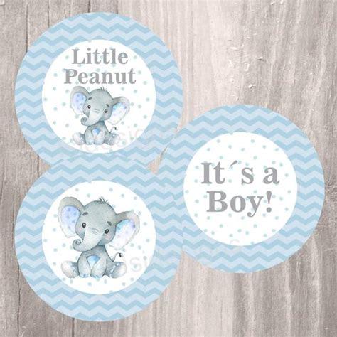 blue elephant baby shower decorations blue elephant baby shower printable centerpieces instant