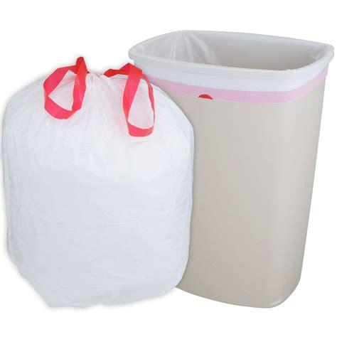 kitchen trash bags husky 13 gal drawstring kitchen trash bags 300 count