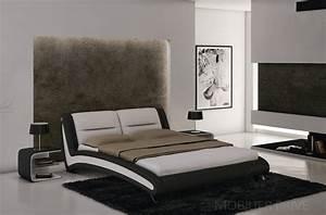 Lit Chez But : lit adulte en cuir de luxe mobilier priv ~ Teatrodelosmanantiales.com Idées de Décoration