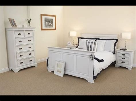 White Painted Bedroom Furniture Youtube
