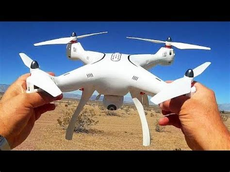syma  pro large gps drone flight test review youtube