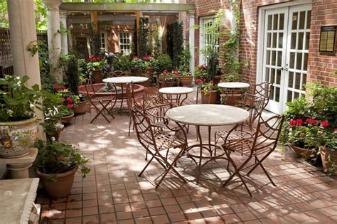 Tuscan Decorating Ideas For Patio by Manhattan Courtyard Garden Design Mediterranean Patio
