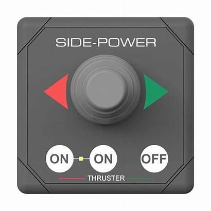 Side Power Joystick Panel Singel Grey Ean