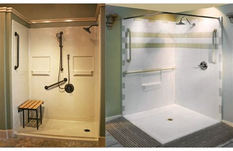 barrier free showers bath safety products homecare