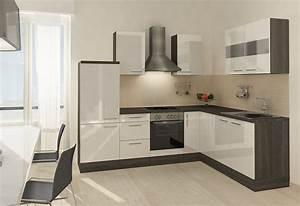 Küchenzeile 200 Cm : winkel k chenzeile mia 260 x 200 cm korpus eiche grau dekor set 2 online kaufen otto ~ Indierocktalk.com Haus und Dekorationen