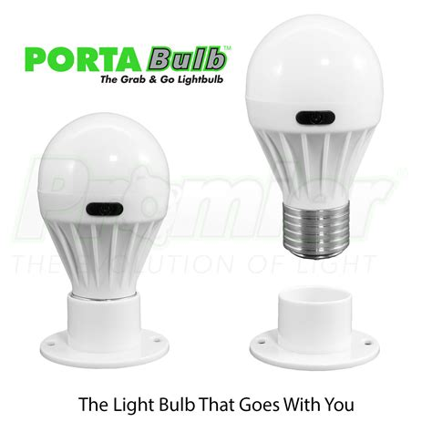 promier porta bulb battery powered light bulb portable