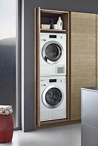 Trockner Und Waschmaschine übereinander : heimat f r die waschmaschine k chenplaner magazin ~ Michelbontemps.com Haus und Dekorationen
