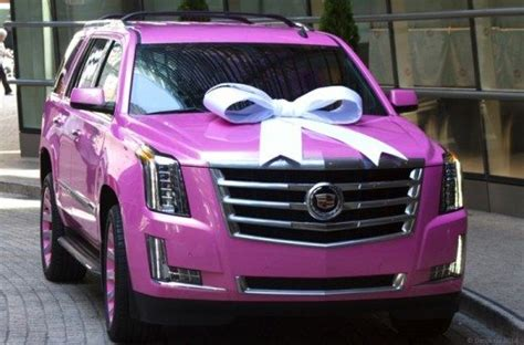 teddy bridgewater gifts  mom  pink cadillac escalade